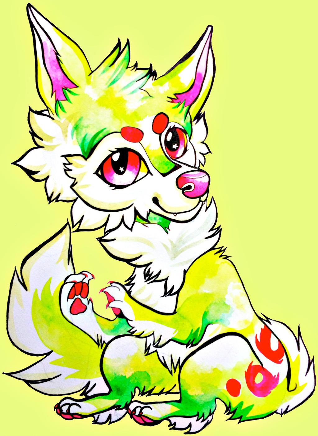 Falvie (Watercolour Chibi) by ClaraBacou