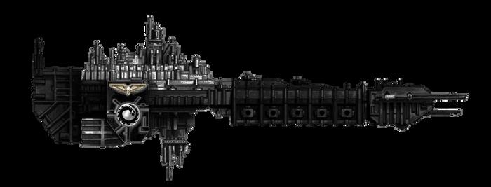Battle Barge Rokea