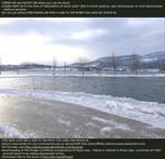Snowy Lake Stock by DeviousRose