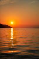 sunset by cristilaceanu