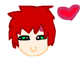 chibi gaara by little-patchy-pirate