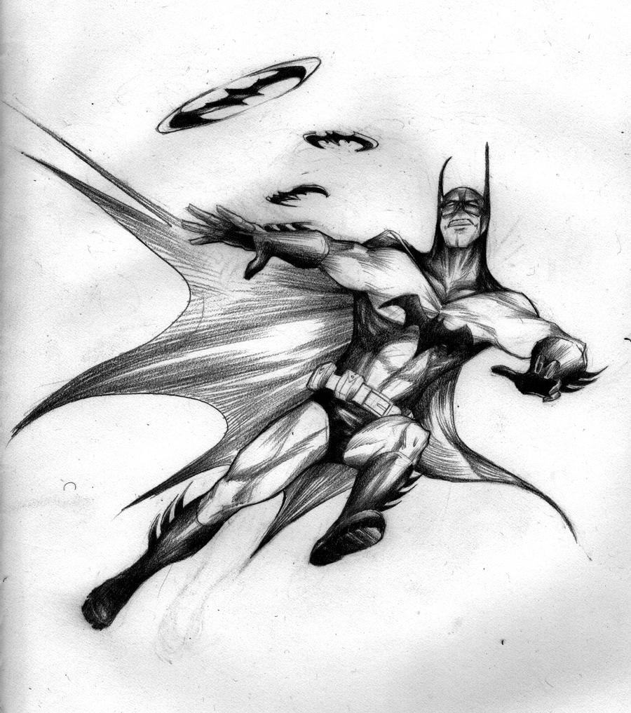 Batman Pencil drawing by Super-archbrawler on DeviantArt Batman Drawing In Pencil Easy