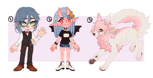 [Reduced] Open - Mixed Adopts Flatsale