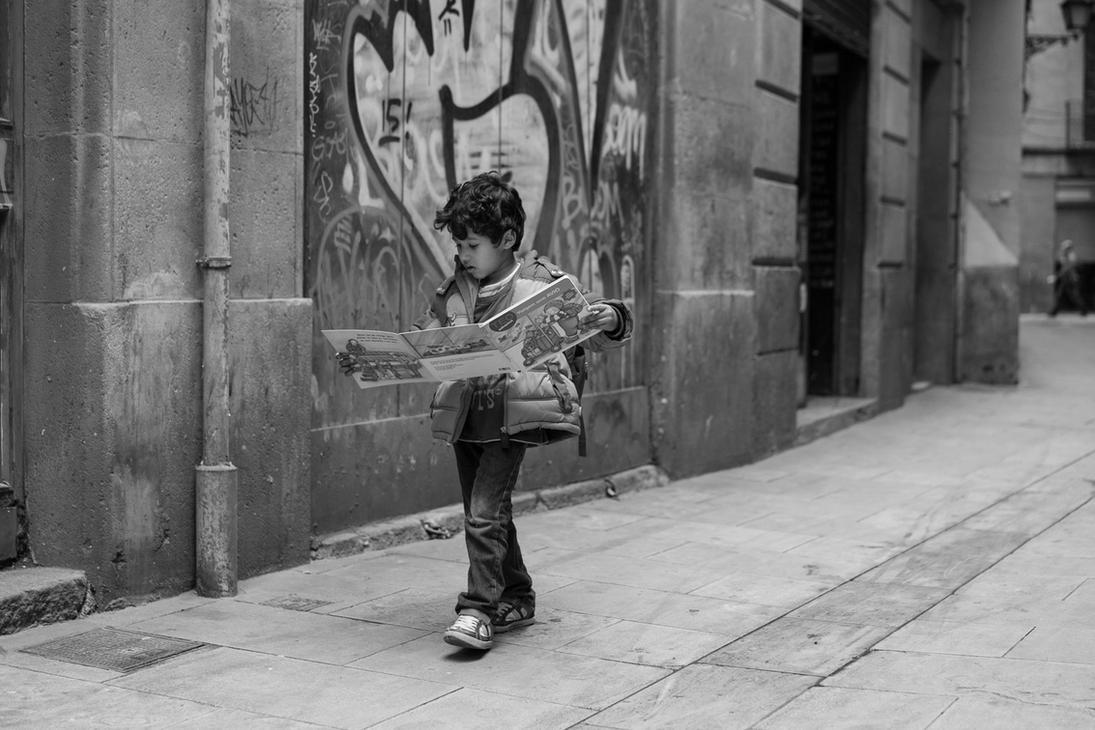 Barcelona Street III by ChristophTrabert