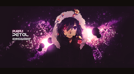 Purple Petal by HeyItsJono
