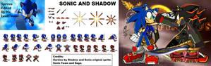 Shadow and Sonic (Shadow Infinitus)