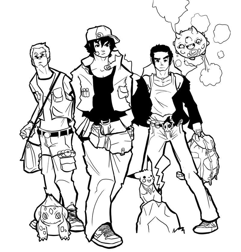Poke-adventure time! by Kazym