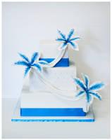 Stargazer Wedding Cake by Igasm