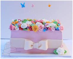 GardenBox Cake by Igasm