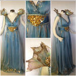 Daenerys Targaryen Blue Dress