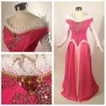 Sleeping Beauty Pink Dress Cosplay