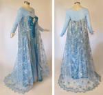 Frozen Elsa Cosplay Costume