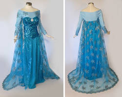 Frozen Elsa Cosplay Costume by glimmerwood