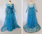 Frozen Elsa Cosplay Costume