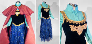 Frozen Anna Cosplay Costume