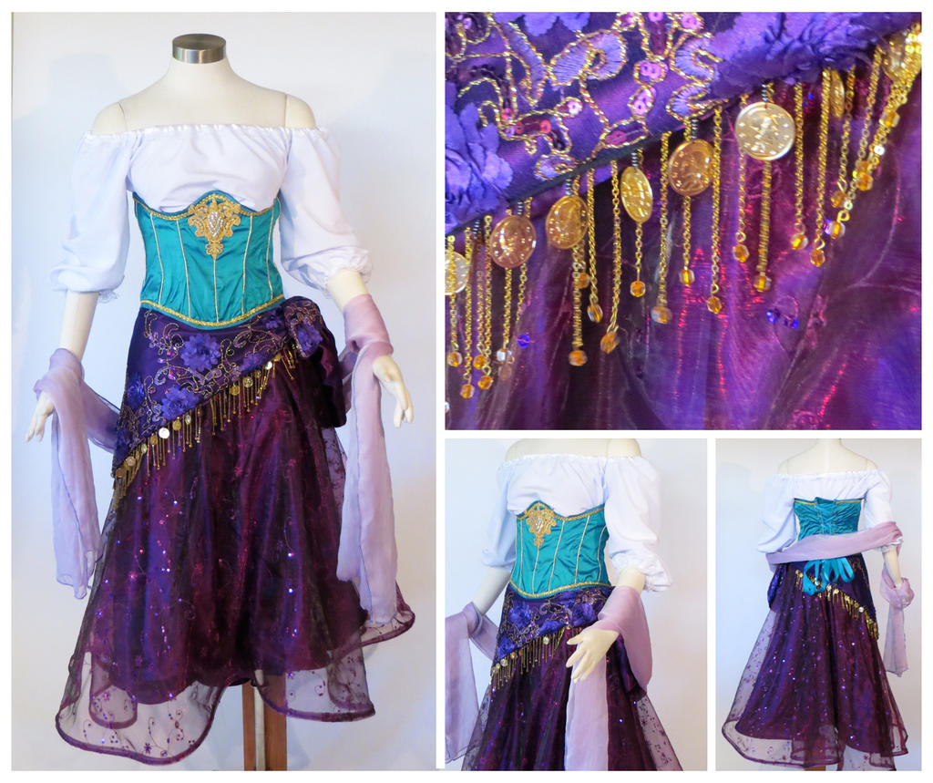 Esmeralda Cosplay Costume by glimmerwood