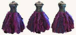 Designer Ursula Cosplay Ball Gown