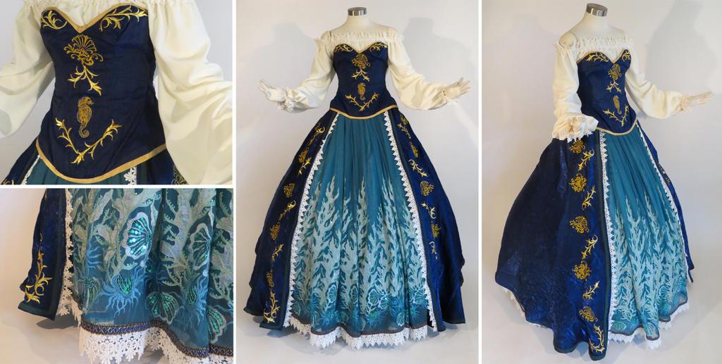 Little Mermaid Designer Cosplay Costume