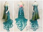 Elsa's Spring Dress Cosplay from Frozen Fever