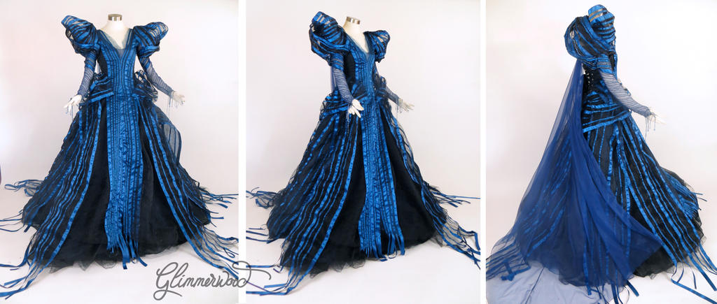 Into The Woods Witch Cosplay Gown By Glimmerwood On Deviantart