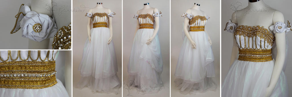 Princess Serenity Cosplay Costume Gown by glimmerwood on DeviantArt