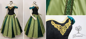Coronation Anna Cosplay Gown