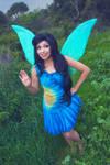 Pixie Hollow Silvermist Cosplay Costume