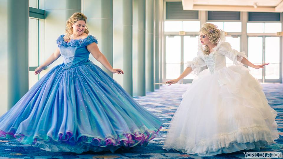 Cinderella and Fairy Godmother 2015 Cosplay at D23 by glimmerwood on ...