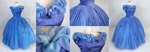 2015 Cinderella Cosplay Gown