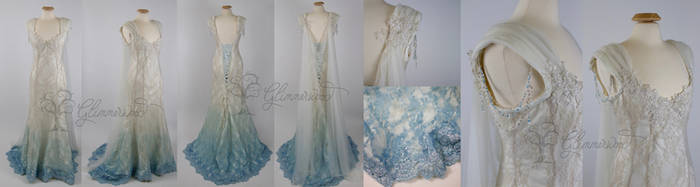 Stephanie's Fantasy Wedding Gown by Glimmerwood