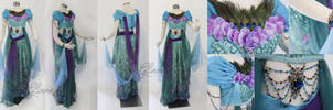 Designer Jasmine Costume Cosplay gown by glimmerwood