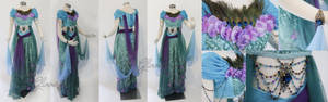 Designer Jasmine Costume Cosplay gown