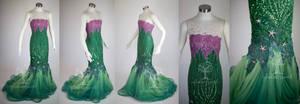 Designer Ariel Cosplay Dress