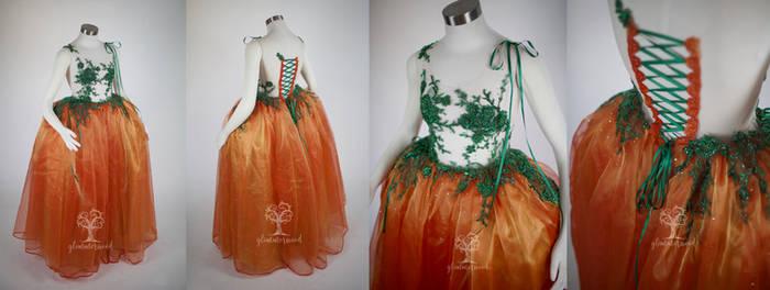 Fall Pumpkin Harvest Gown