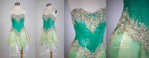 Pixie Hollow Tiana Fairy Cosplay Costume