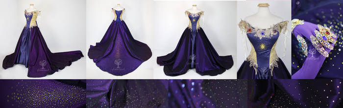 Infinity Stone Thanos Inspired Cosplay Gown