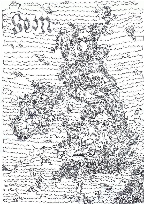 Britain Doodle by Snoosmumrik