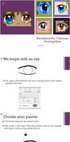 Sketchbook Pro 7 tutorials: Coloring Eyes by ShardsOfMi
