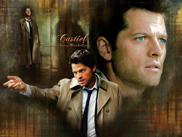 SUB Castiel Wallpaper By Misha Collins Club
