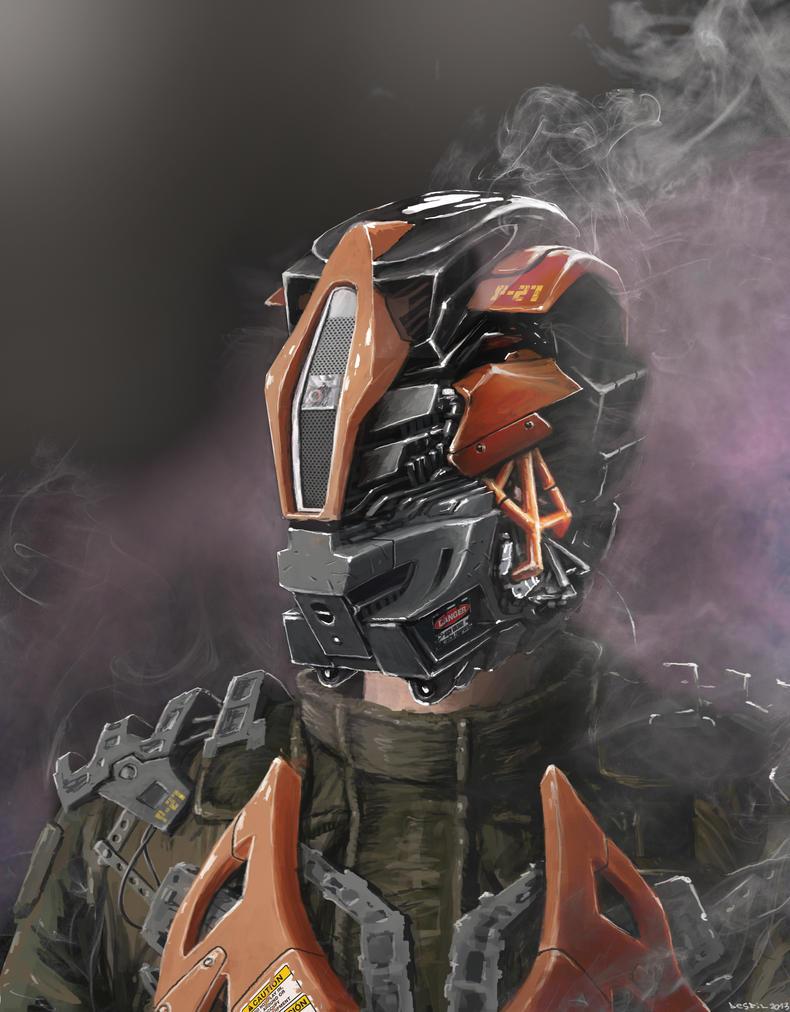 helmet concept by 5ofnovember