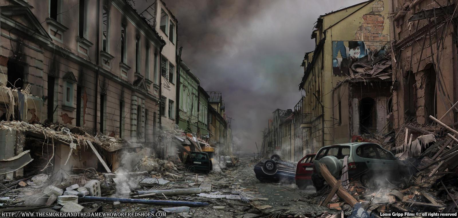 postapo street by 5ofnovember