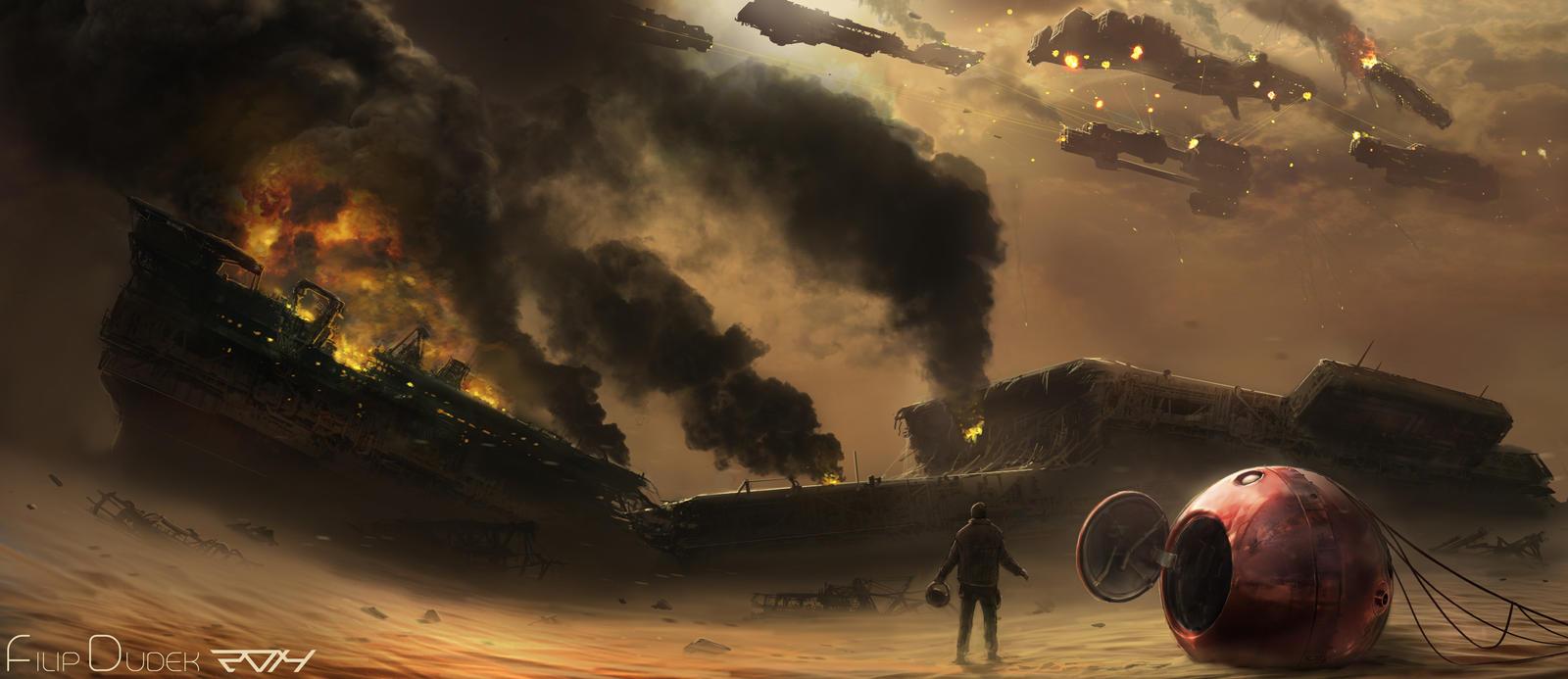 battle over desert