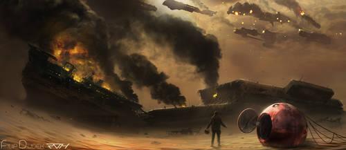 battle over desert by 5ofnovember