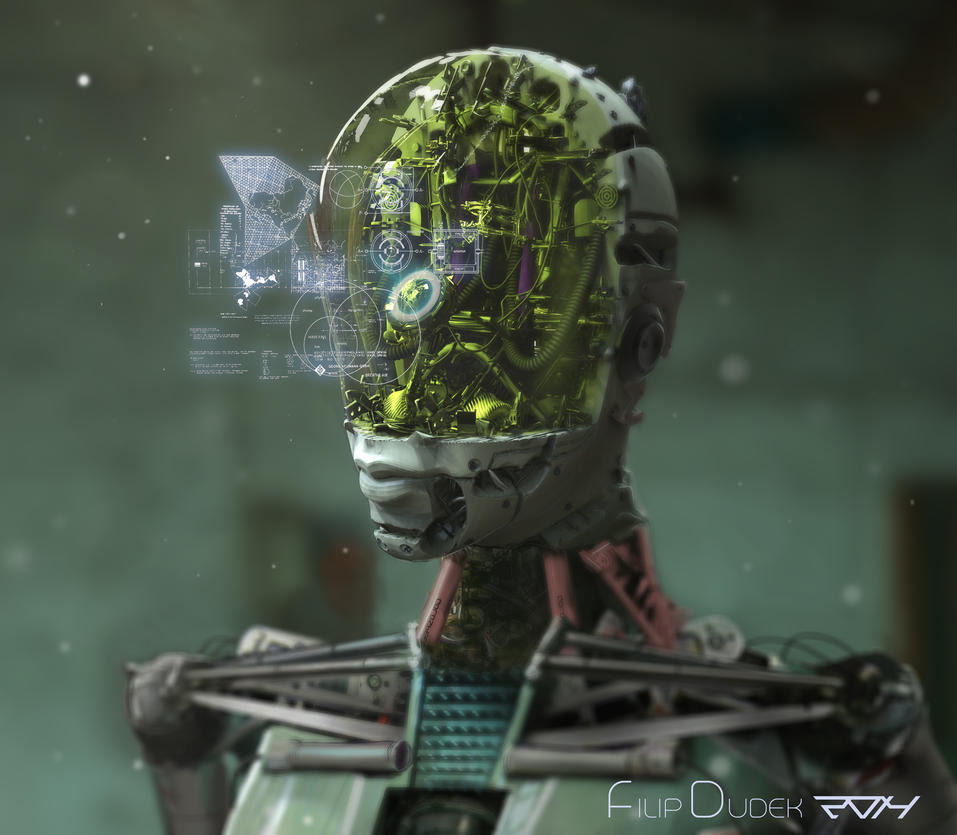 the all-knowing robot by 5ofnovember