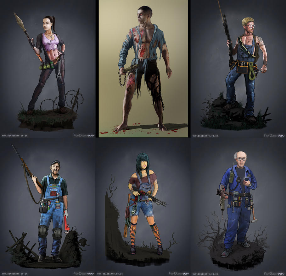 characters set by 5ofnovember