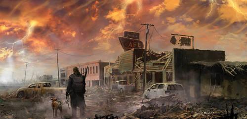 Tthe Burning Of The Sky 3 by 5ofnovember