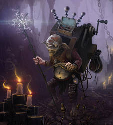 Electro-Goblin by 5ofnovember