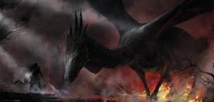 dragon by 5ofnovember