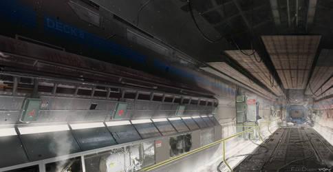 Corridor by 5ofnovember