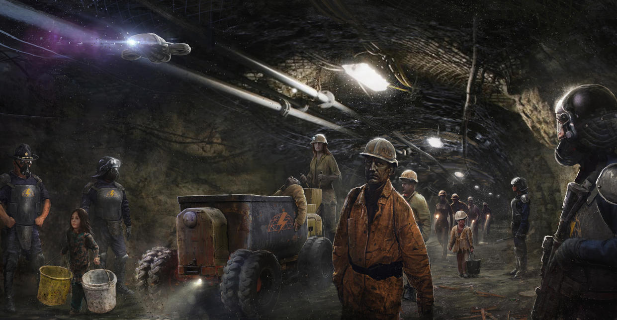 Miners by 5ofnovember